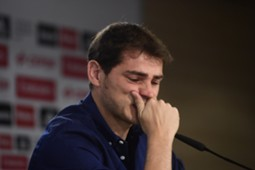 Iker Casillas Real Madrid farewell