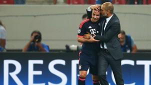 Mario Gotze & Pep Guardiola Bayern Munich