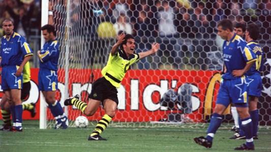Karl-Heinz Riedle Borussia Dortmund Juventus
