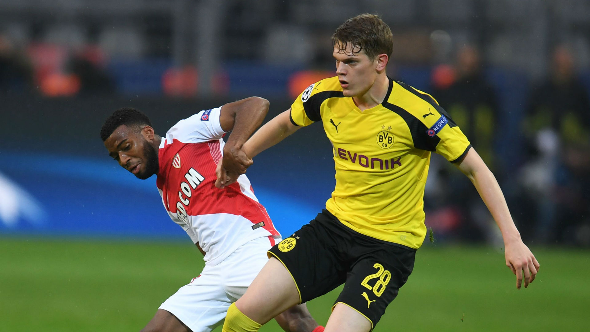Thomas Lemar Monaco Matthias Ginter Borussia Dortmund