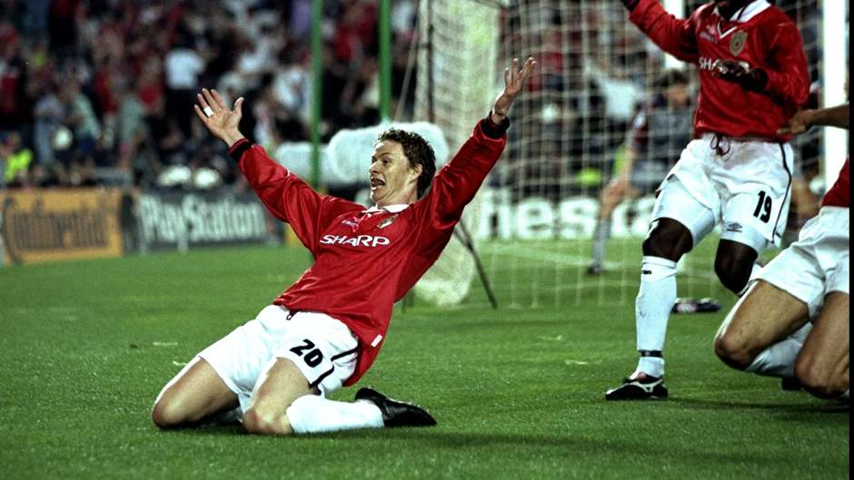 Image result for solskjaer vs bayern