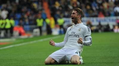 Sergio Ramos Real Madrid La Liga 31012015