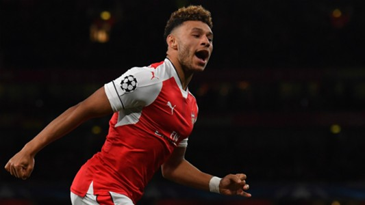 Alex Oxlade-Chamberlain Champions League Team of the Week