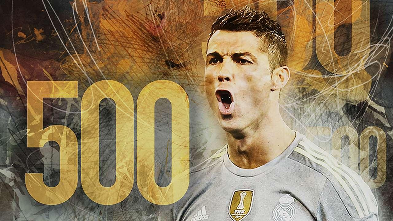 Cristiano Ronaldo 500 Gallery Cover