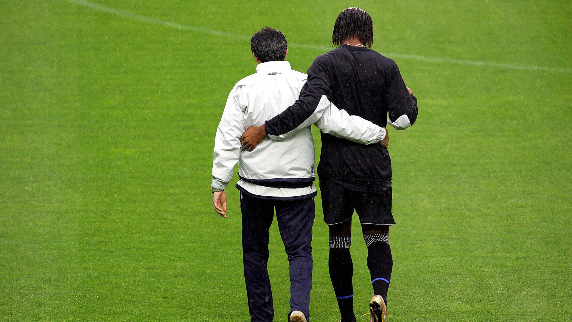 6 Jose Mourinho Didier Drogba