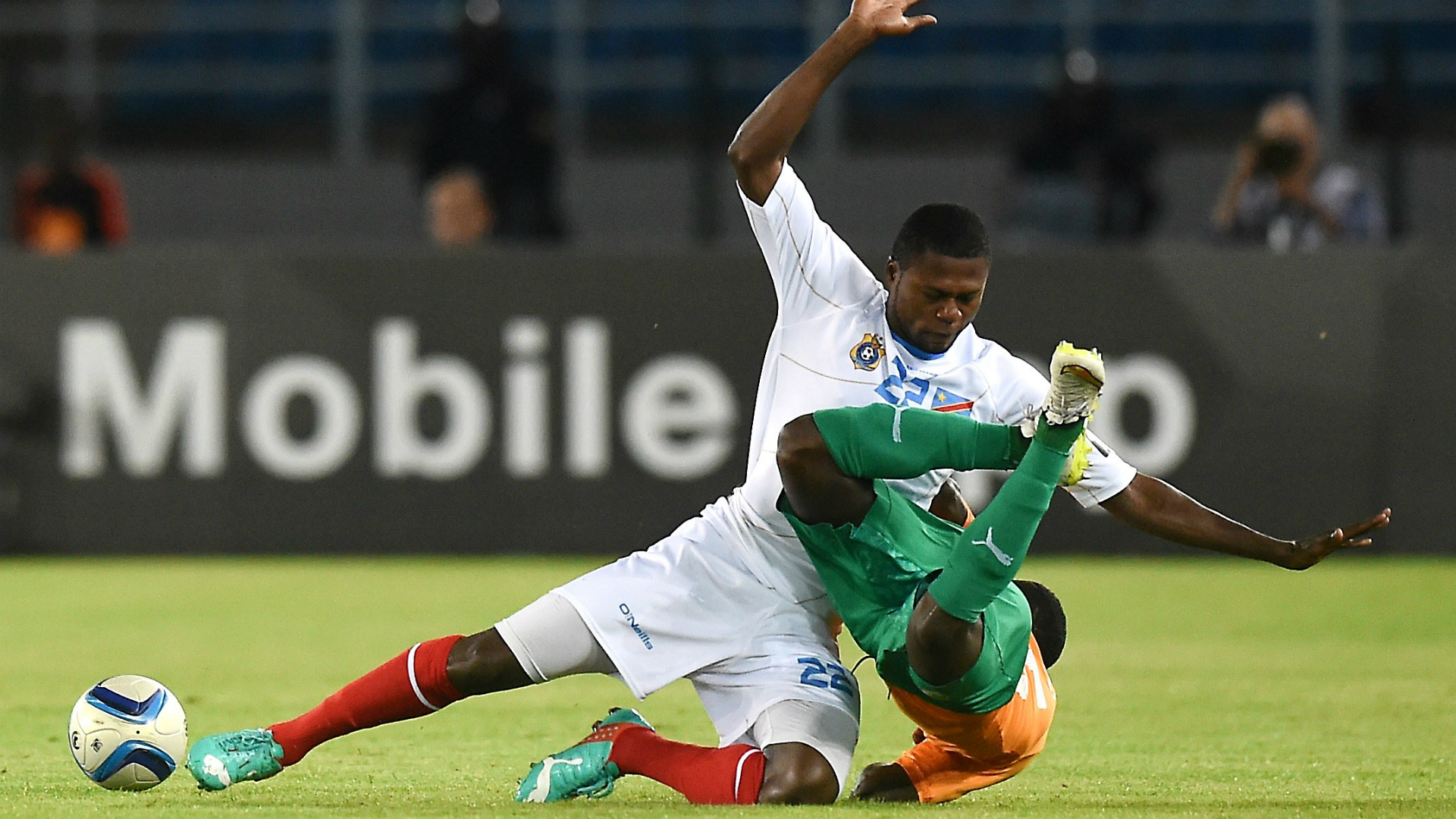 Newcastle's Mbemba injured on worldwide duty with DR Congo