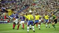 Zinedine Zidane Zinedine Zidane France Brazil World Cup 1998 final