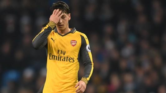 Mesut Ozil Premier League Man City v Arsenal