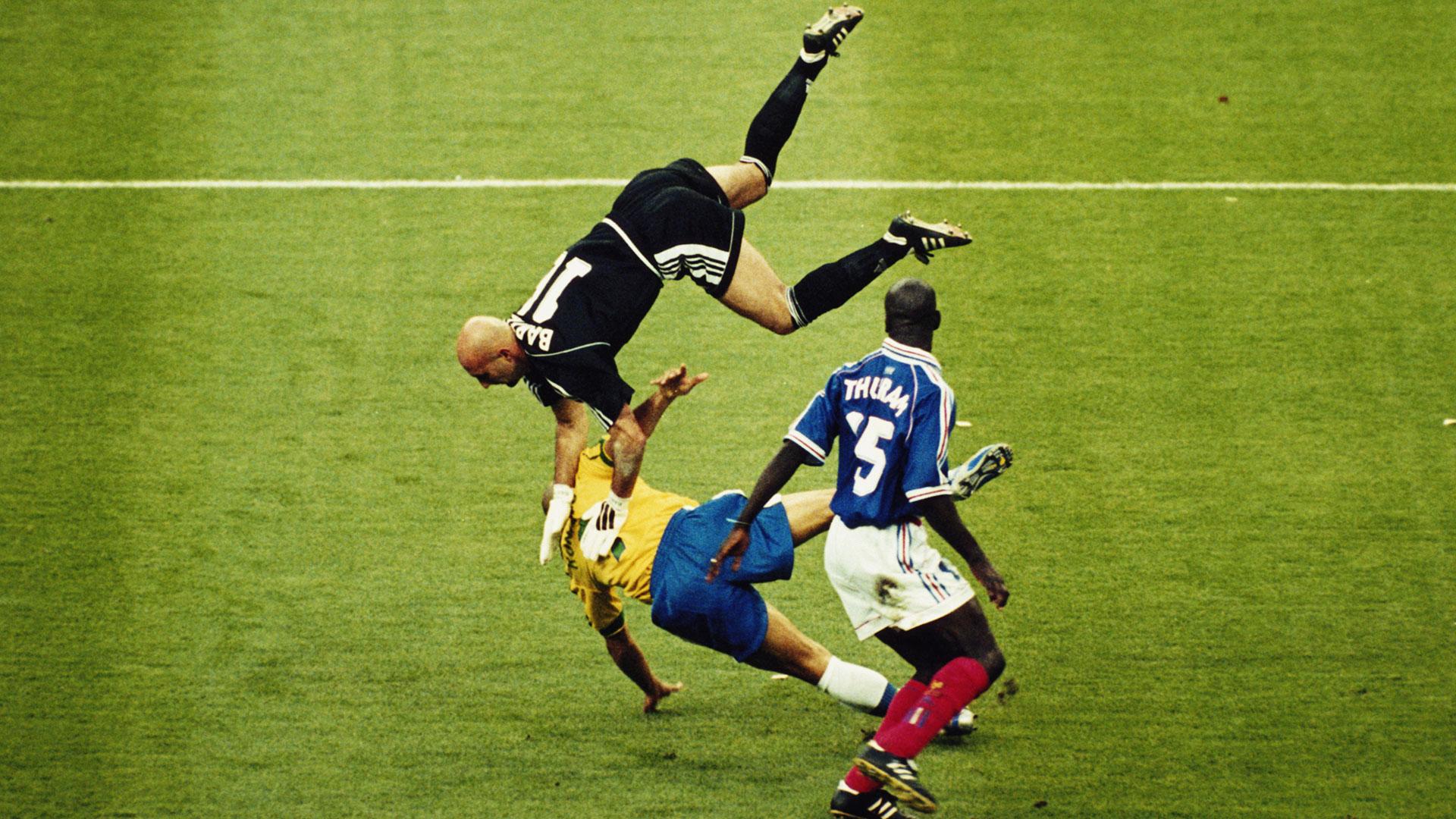 Ronaldo Brazil France 1998 World Cup
