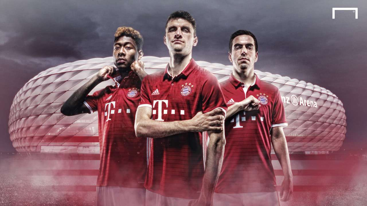 Bayern Munich 2016-17 kit launch