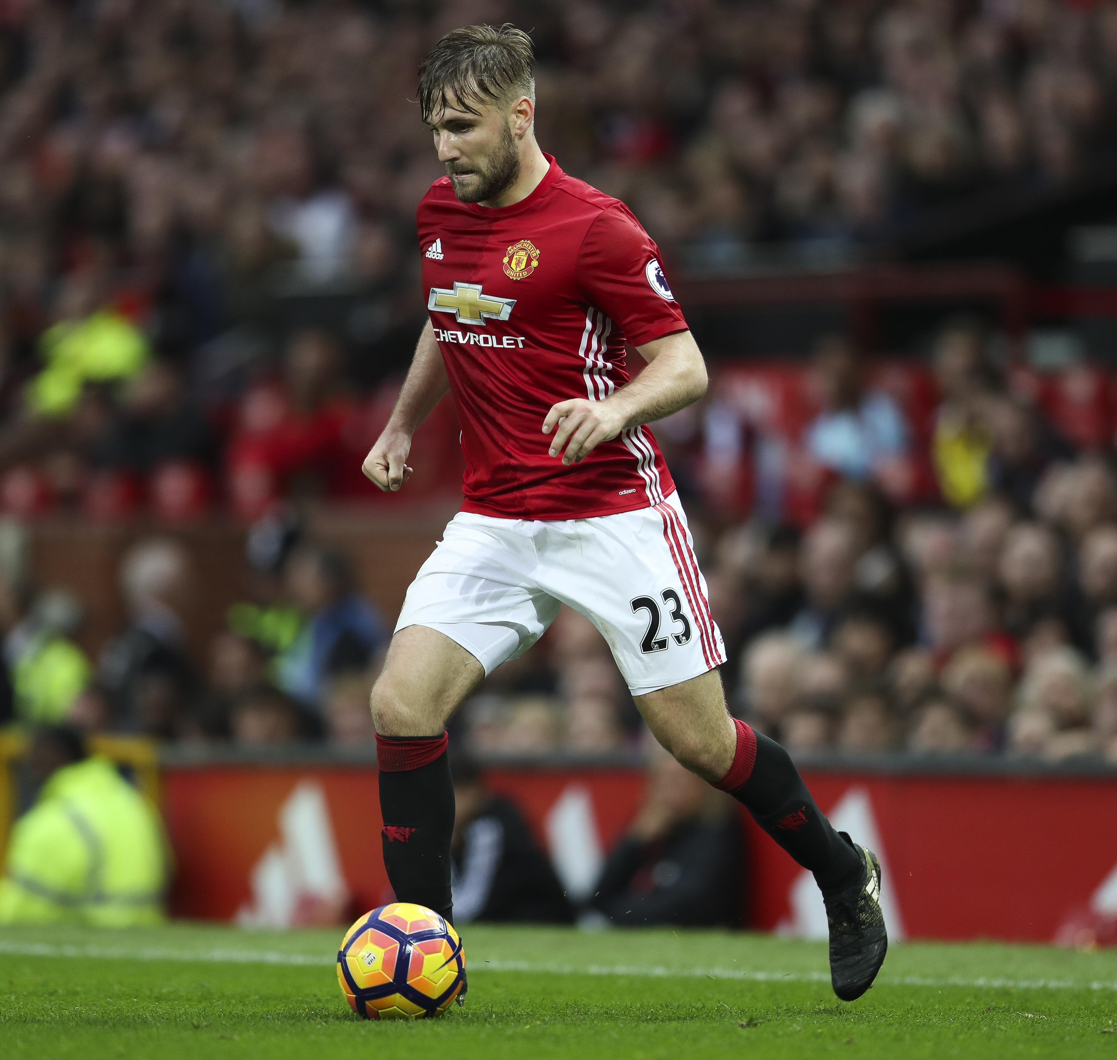 Luke Shaw Manchester United v Burnley