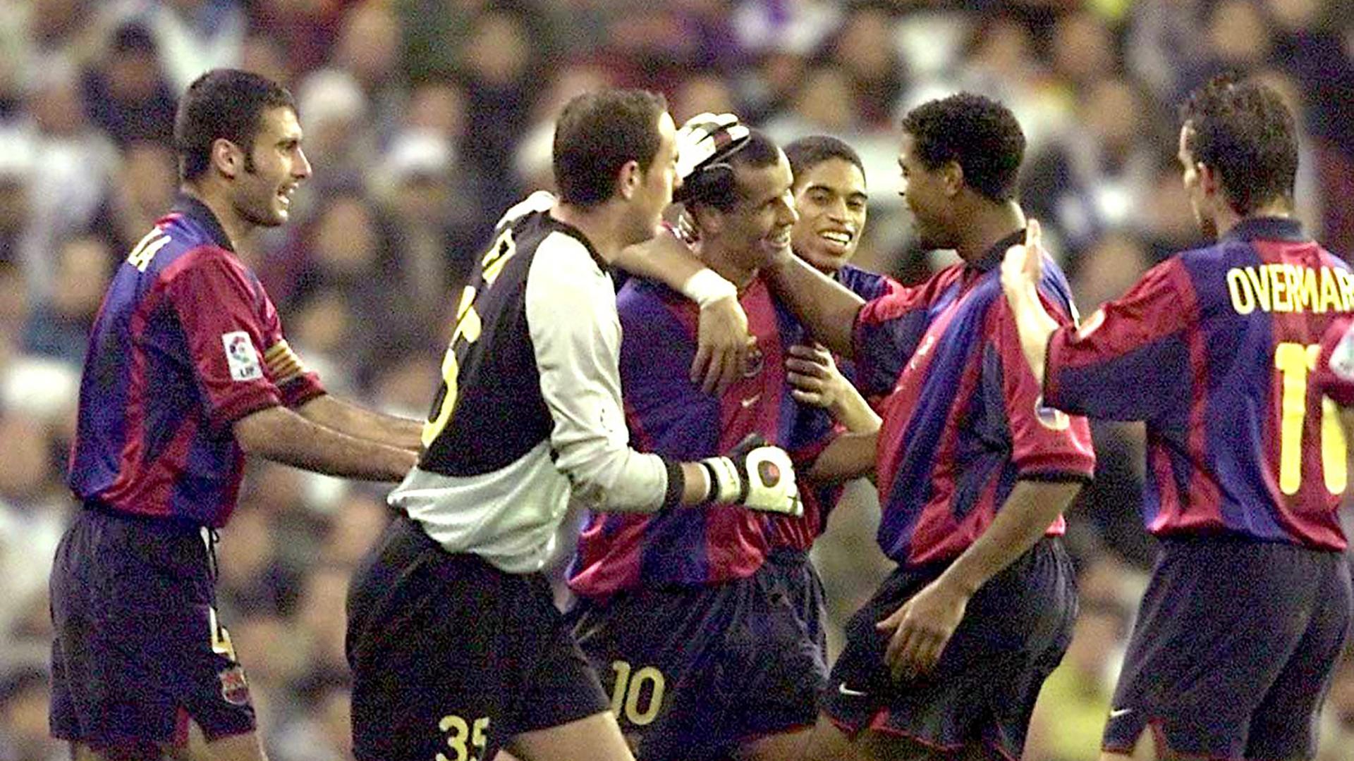 Rivaldo Barcelona Real Madrid 2001