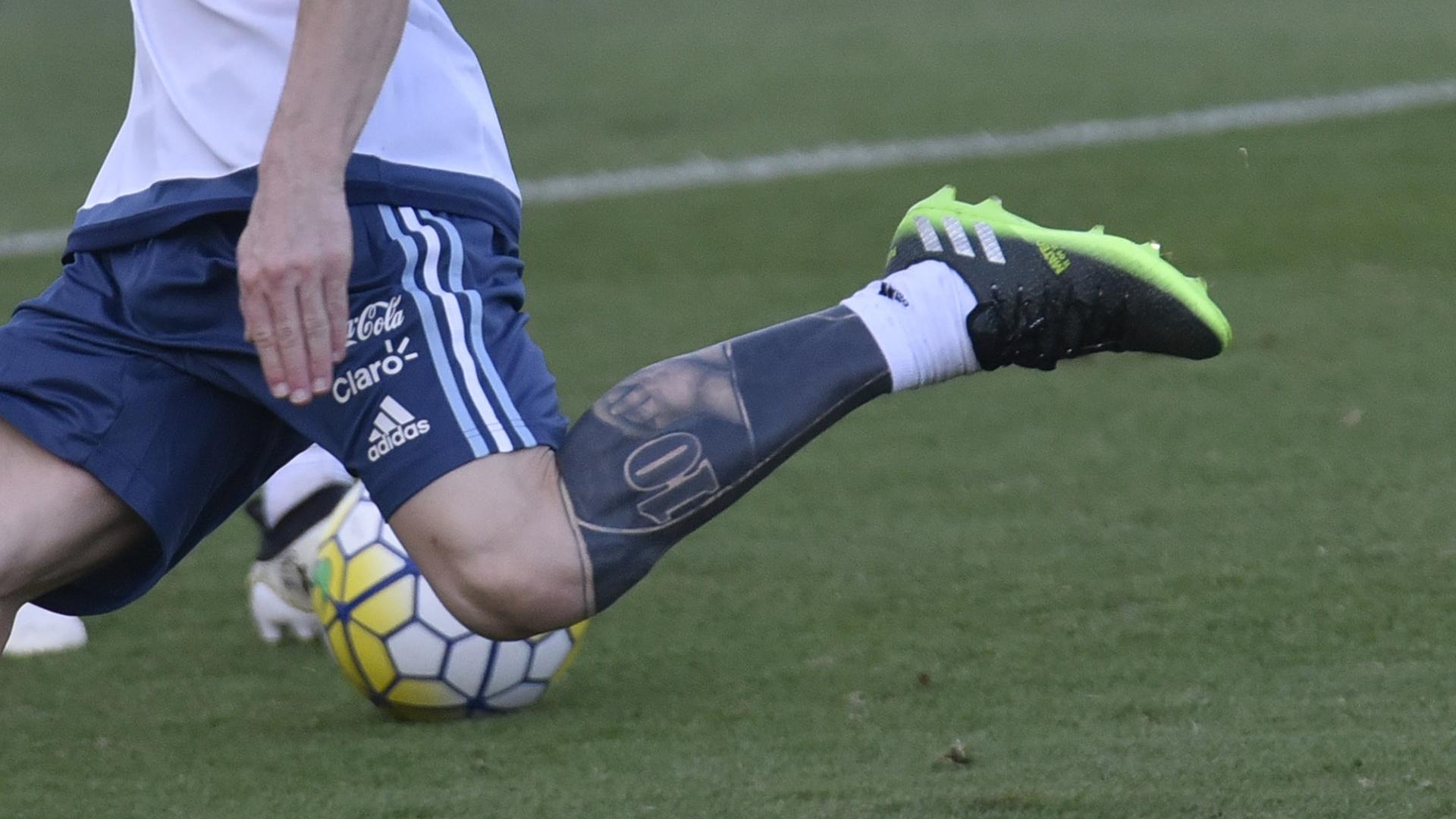 Messi Tattoo 2