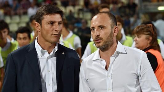 Javier Zanetti Piero Ausilio Inter