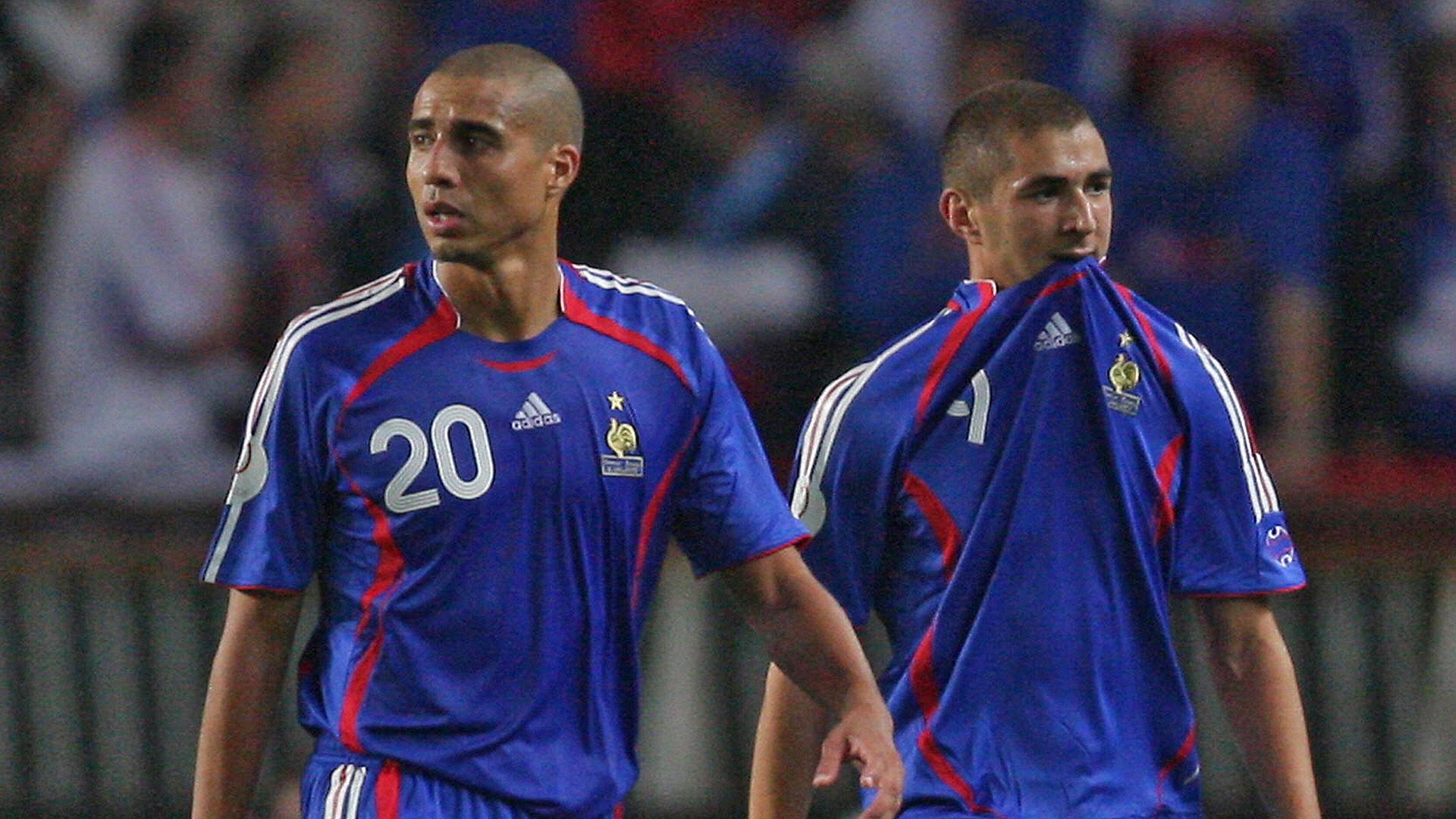 David Trezeguet Karim Benzema France 12092007