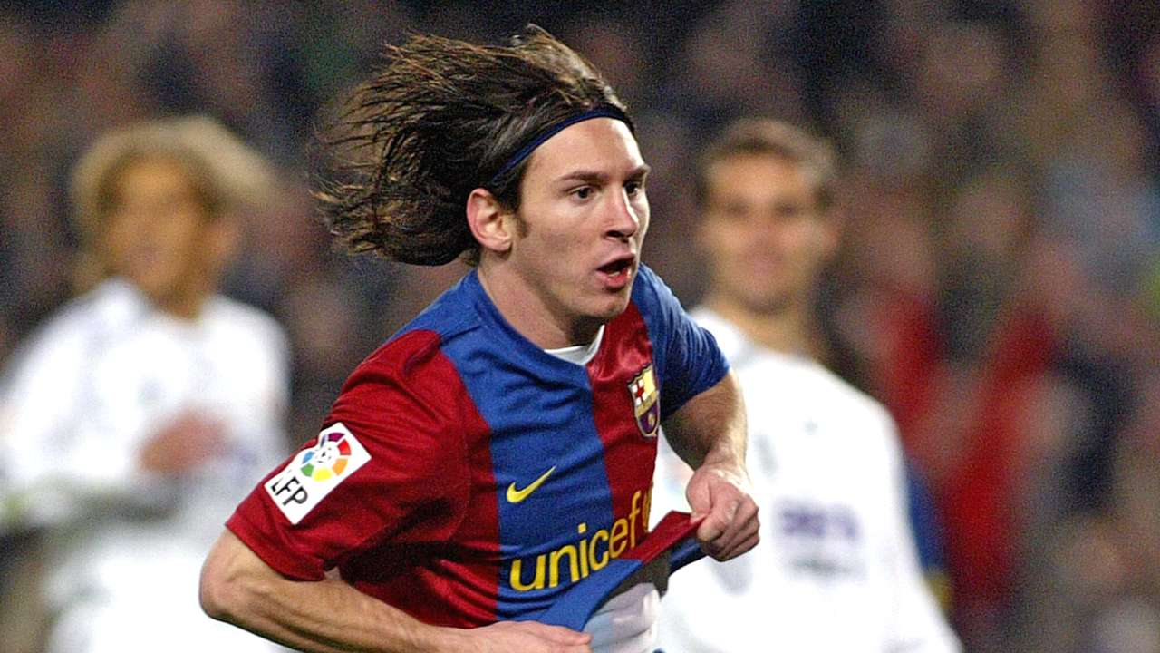 Lionel Messi Barcelona Real Madrid La Liga 10032007