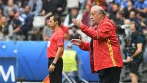 Vicente Del Bosque Spain Euro 2016