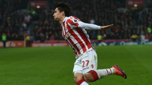 Bojan Stoke City Leicester City Premier League