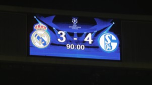 Scoreboard Real Madrid Champions League 10042015