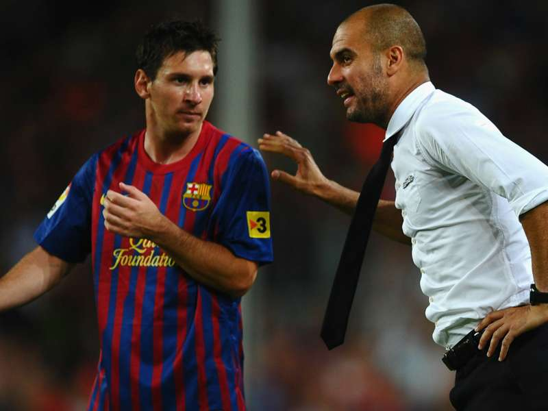 Guardiola: People are right - I only won at Barca because I had amazing players