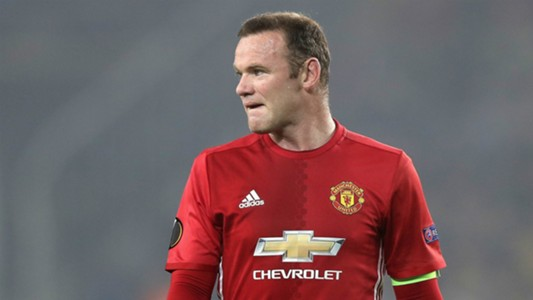 Wayne Rooney Manchester United Europa League 2016