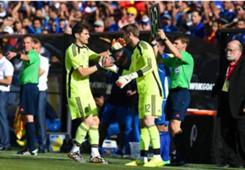 Iker Casillas David De Gea Spain El Salvador 07062014