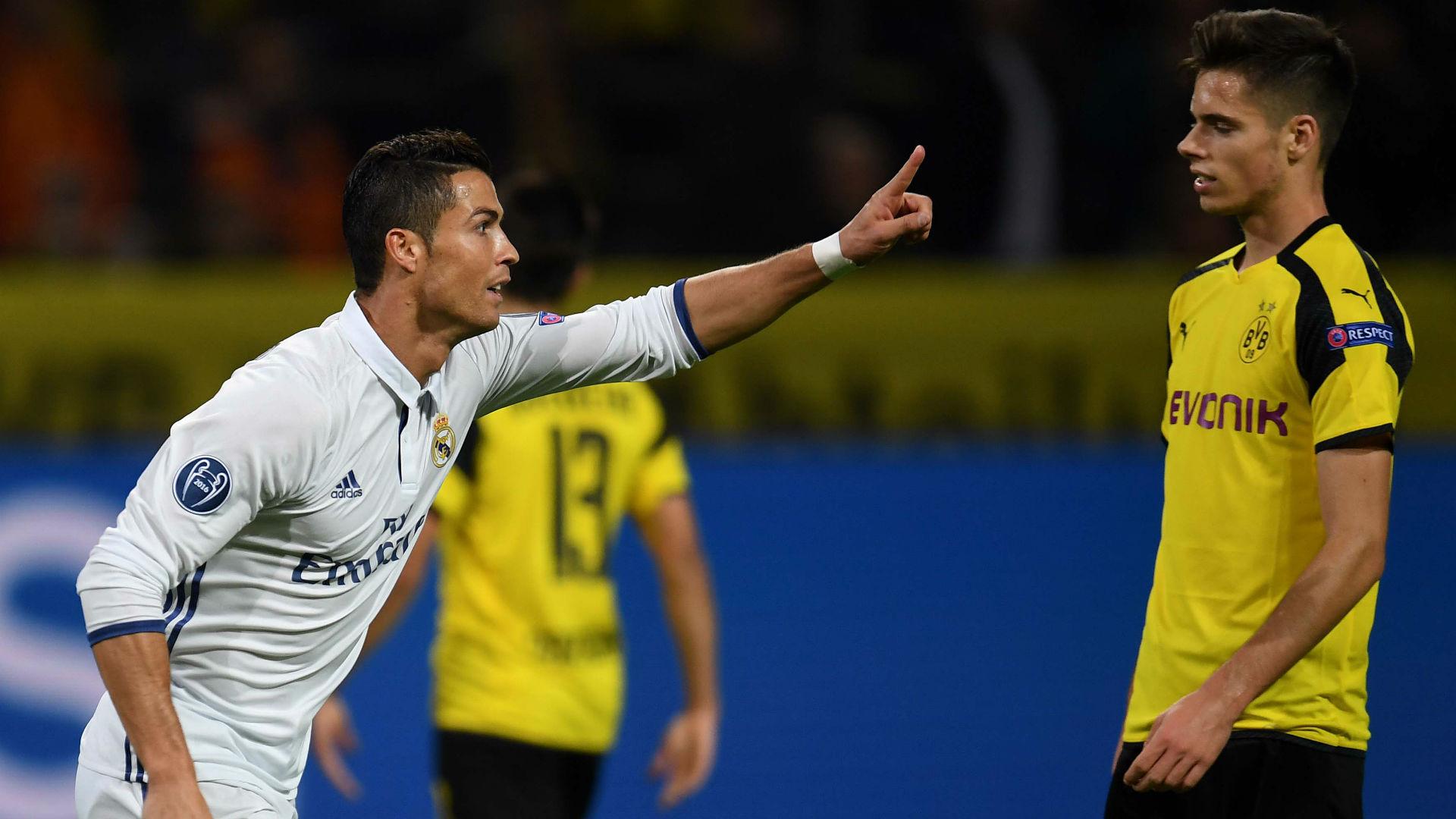 Cristiano Ronaldo Champions League Borussia Dortmund v Real Madrid 27091