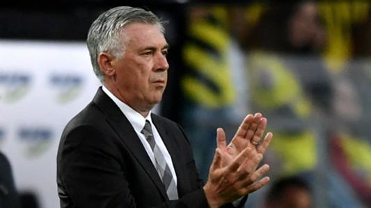 Carlo Ancelotti Bayern Munich v Borussia Dortmund 14081