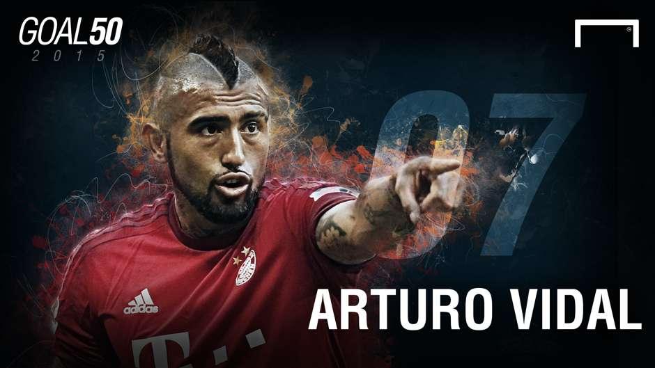 07 Arturo Vidal G50