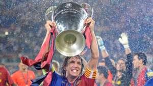 Carles Puyol Barcelona Champions League