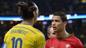 Zlatan Ibrahimovic Cristiano Ronaldo