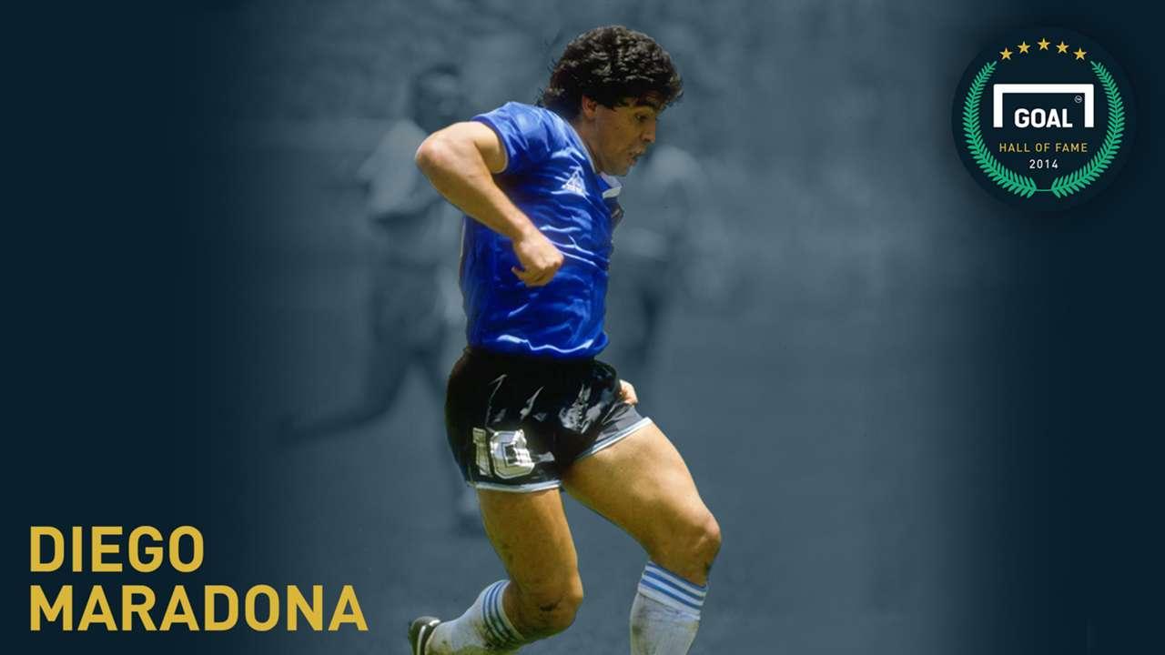 Gallery: Hall of Fame - Maradona