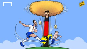 CARTOON: Italy raid Fellaini's nest
