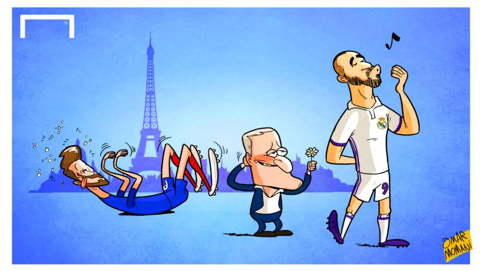 CARTOON Deschamps to bring back Benzema