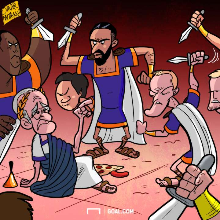 Cartoon Leicester