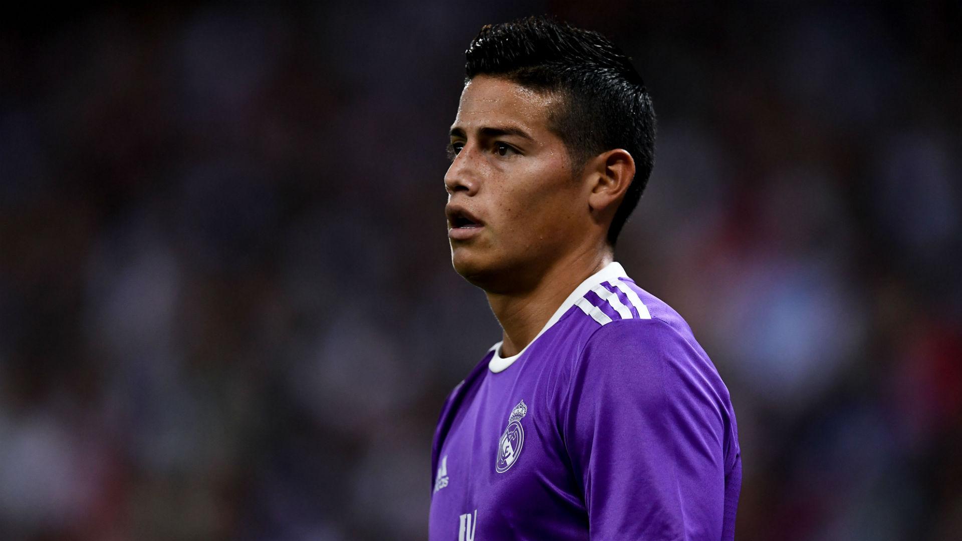 James Rodriguez Real Madrid 18092016