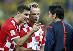Dejan Lovren Croatia Brazil 2014 World Cup Group A 12062014