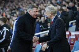 Wenger and Allardyce