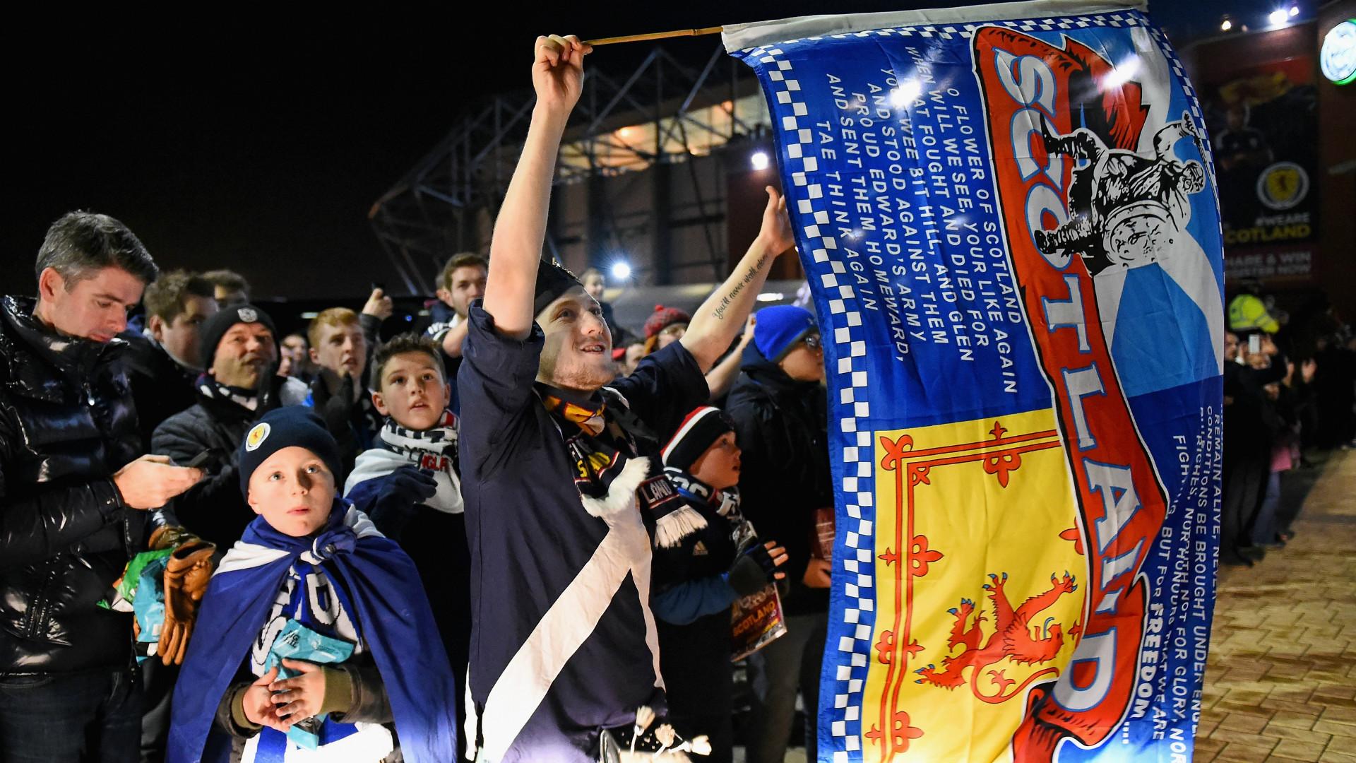 HD Scotland fans 2014