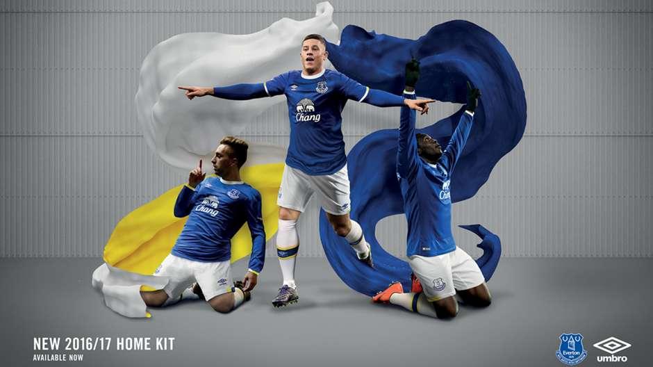 Everton 2016-17 kit