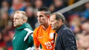 Robin van Persie; Danny Blind Netherlands