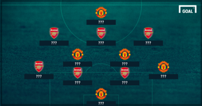 Man Utd Arsenal combined XI
