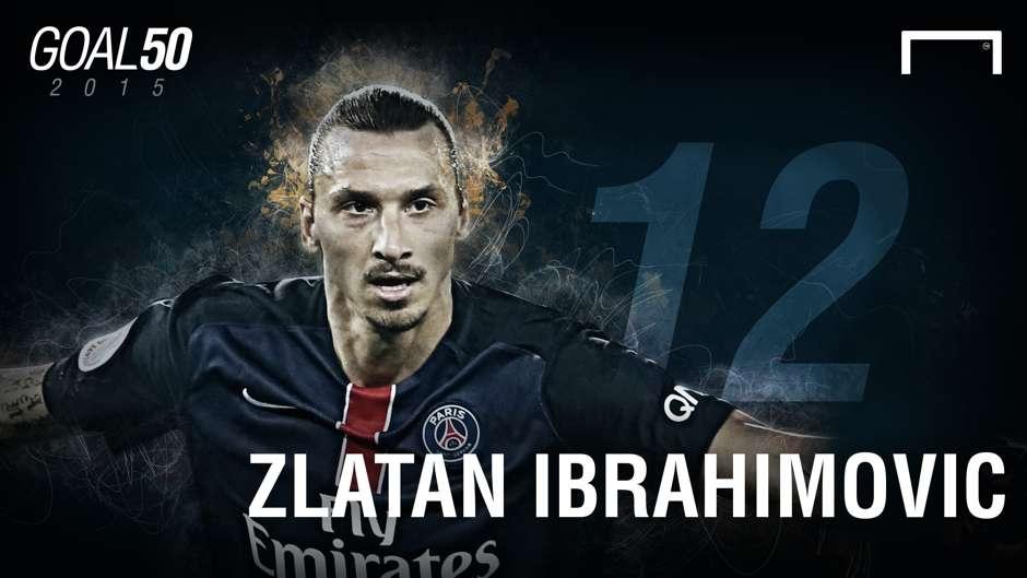 12 Zlatan Ibrahimovic G50