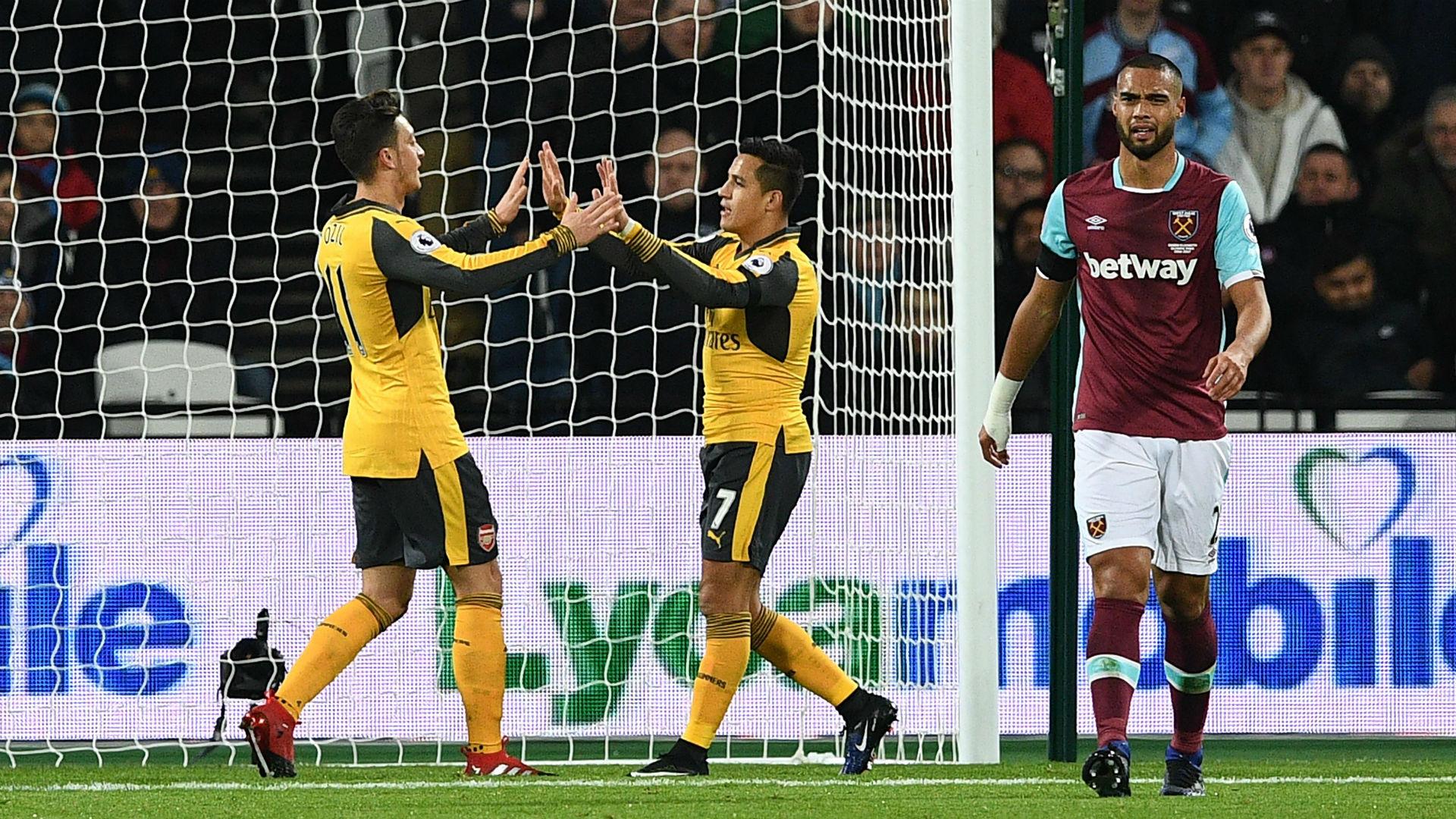 West Ham vs Arsenal  - Highlight | Dec 3, 2016