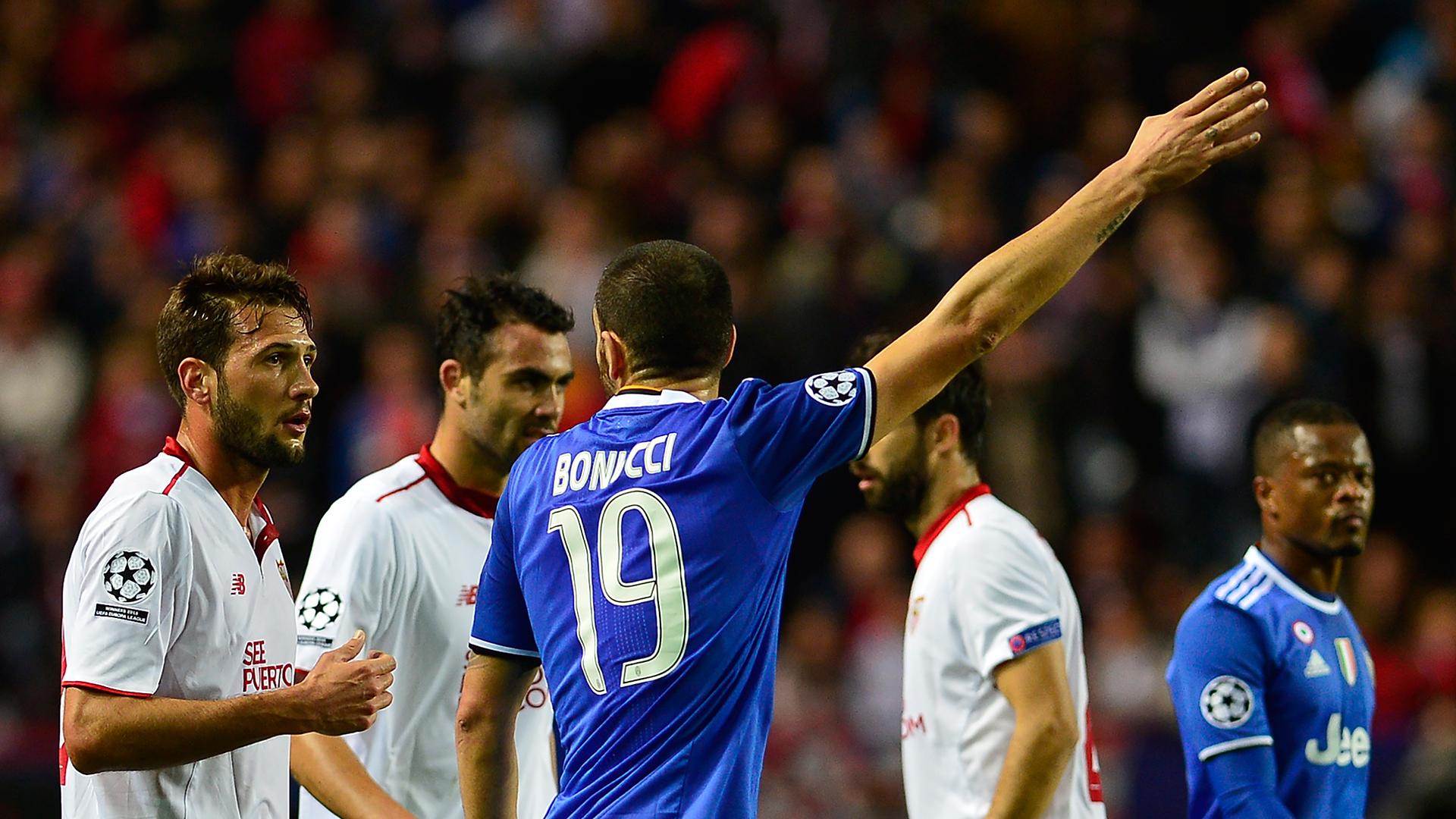 Juventus' mental strength a stark contrast to stupid Sevilla