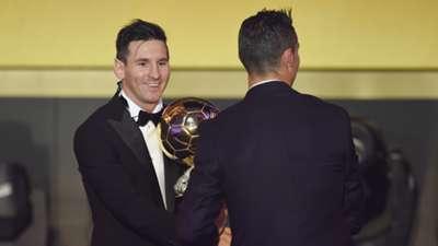 Lionel Messi Ronaldo 2015 Ballon d'Or