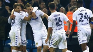 HD Leeds United celebrate