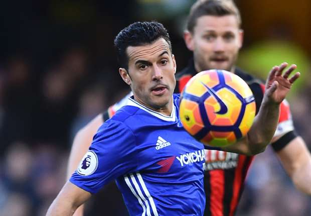 Image result for chelsea bournemouth pedro