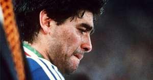 Maradona 1990 World Cup final