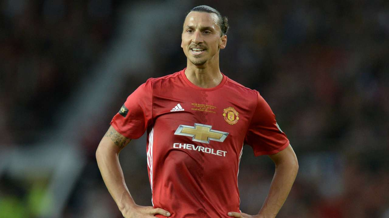 Zlatan Ibrahimovic Manchester United Everton